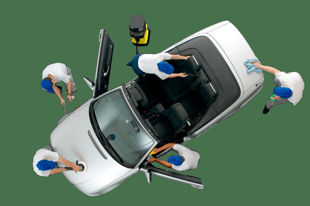 Pulizia e sanificazione auto